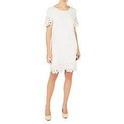 Jacques Vert - Ivory cutwork detail tunic