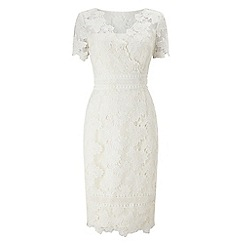 Jacques Vert - Ivory lovely lace dress