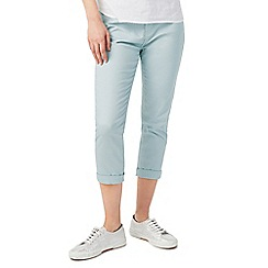 Dash - Sea mist crop trousers