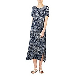 Dash - Palm print maxi dress