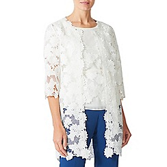 Jacques Vert - Lace edge to edge jacket