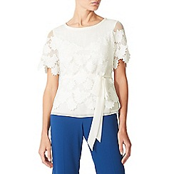 Jacques Vert - Ivory lovely lace top