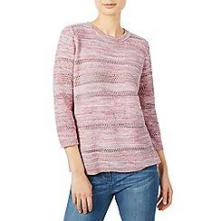 Dash - Poitnelle knit coral jumper