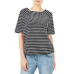 Dash - Sparkle stripe jersey top
