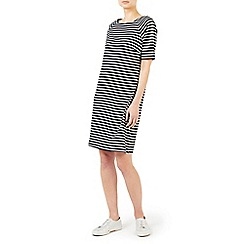 Dash - Sparkle stripe jersey dress
