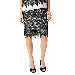 Jacques Vert - Leaf lace skirt