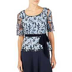 Jacques Vert - Multicoloured embroidered lace top
