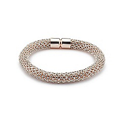 Jacques Vert - Diamante rope effect bracelet