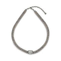 Jacques Vert - Diamante insert necklace
