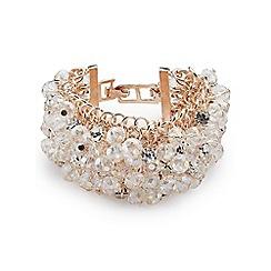 Jacques Vert - Wide cluster bead bracelet