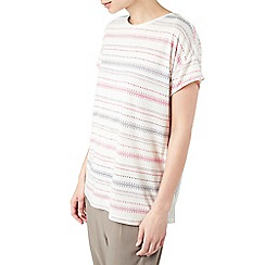 Dash - Stitch print jersey t-shirt