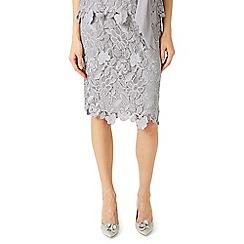 Jacques Vert - Floral lace pencil skirt