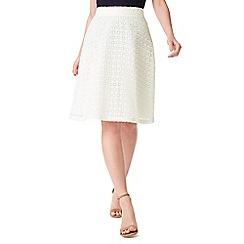 Precis - Petite Lace Midi Skirt