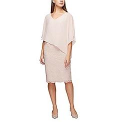 Jacques Vert - Lace and chiffon dress