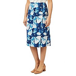 Eastex - Printed woven a line skirt