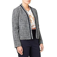 Eastex - Fringing tweed jacket