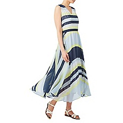 Dash - Stripe georgette maxi dress
