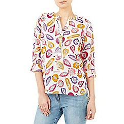 Dash - Tutty fruity linen blouse