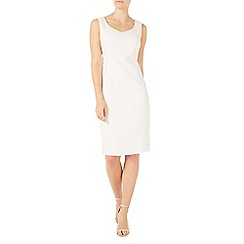 Jacques Vert - Ivory textured dress