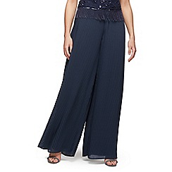 Jacques Vert - Chiffon pleated trousers