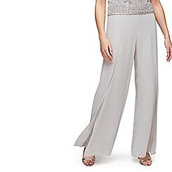 Jacques Vert - Side split chiffon trousers