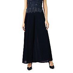 Jacques Vert - Full pleated chiffon trousers