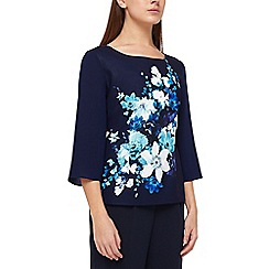 Jacques Vert - Hampton floral layer top