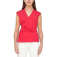 Jacques Vert - Plisse sleeves blouse