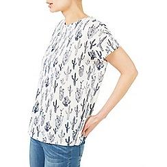Dash - Cactus print jersey top