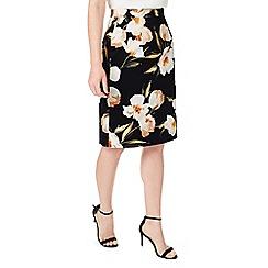 Precis - Petite floral print skirt