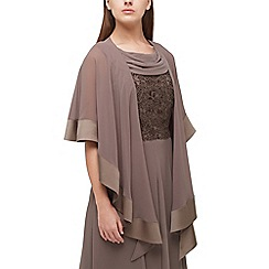 Jacques Vert - Light brown chiffon wrap
