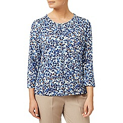 Eastex - Petal haze printed top