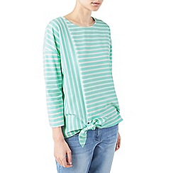 Dash - Stripe ponte top