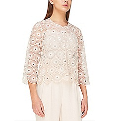 Jacques Vert - Sequin emb anglaise jacket