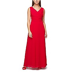 Jacques Vert - Plisse bottom maxi dress