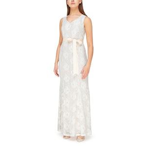 Jacques Vert Sequin lace fishtail maxi dress