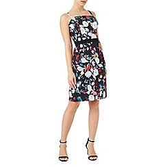 Precis - Petite floral bandeau dress