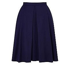 Precis - Petite talia navy skirt