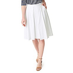 Precis - Petite talia white skirt