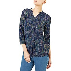 Dash - Roofhut print top