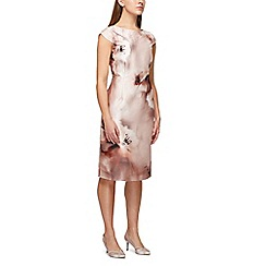Jacques Vert - Printed shantung dress