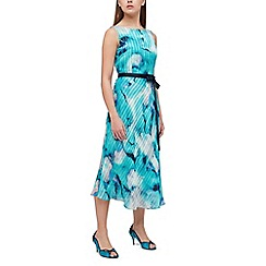 Jacques Vert - Printed stripe prom dress