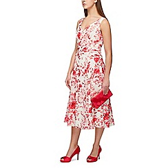 Jacques Vert - Sunset dahlia print midi dress