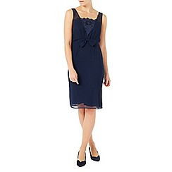 Jacques Vert - Chiffon lace trim dress