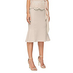 Jacques Vert - Morena ruffle crepe skirt