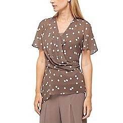 Jacques Vert - Opheila spot chiffon blouse
