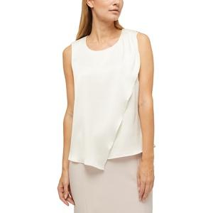 Jacques Vert Maya hammered satin blouse