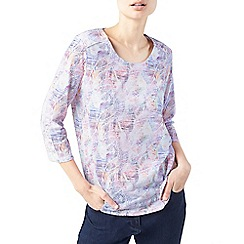 Dash - Salsa palm print top