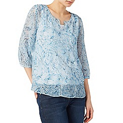 Dash - Inky shells georgette blouse