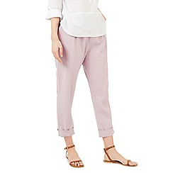 Dash - Pink linen trousers